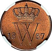 1 Cent - Willem I -  obverse