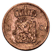 1 Cent - Willem I -  reverse