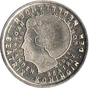 1 Gulden - Beatrix (Last Gulden) – obverse