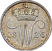 10 Cents - Willem I – obverse