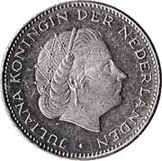 2½ Gulden - Juliana (Union of Utrecht) – obverse