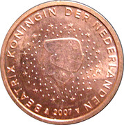 5 Euro Cent - Beatrix -  obverse