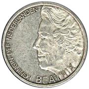 10 Gulden - Beatrix (Hugo de Groot) – obverse
