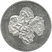 50 Gulden - Beatrix (Queens of Netherlands) – reverse