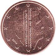 2 Euro Cent - Willem-Alexander – obverse