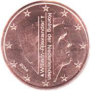 1 Euro Cent - Willem-Alexander – obverse