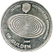 10 Gulden - Beatrix (Millennium) – obverse