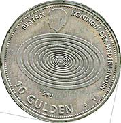 10 Gulden - Beatrix (Millennium) – reverse