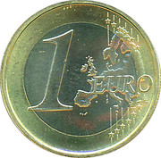 1 Euro - Beatrix (2nd map) – reverse