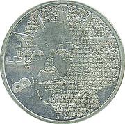 5 Euro - Beatrix (Vincent Van Gogh) – obverse