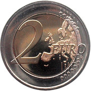 2 Euro - Beatrix (10 Years of Euro Cash) -  reverse
