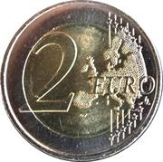 2 Euro - Willem-Alexander (200 Years of the Kingdom) -  reverse