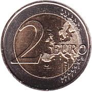 2 Euro - Willem-Alexander (2nd map) -  reverse