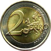 2 Euro - Willem-Alexander (Accession) -  reverse