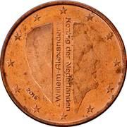 5 Euro Cent - Willem-Alexander -  obverse