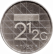 2½ Gulden - Beatrix – reverse