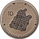 10 Euro - Willem-Alexander (Beemster) – reverse