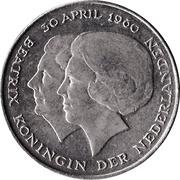 2½ Gulden - Beatrix (Investiture of New Queen) – obverse