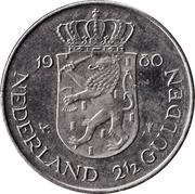 2½ Gulden - Beatrix (Investiture of New Queen) – reverse