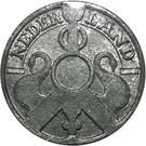 2½ Cents - Wilhelmina (German Occupation) – obverse