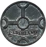 1 Cent - Wilhelmina (German Occupation) – obverse