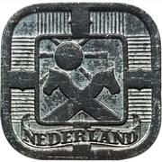 5 Cents - Wilhelmina I (German Occupation) – obverse