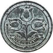 10 Cents - Wilhelmina (German Occupation) -  obverse