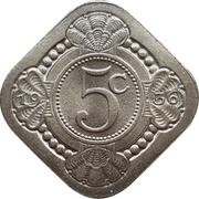 5 Cents - Wilhelmina – reverse