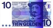 10 Gulden (Frans Hals) – obverse