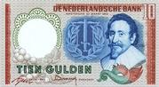 10 Gulden (Hugo de Groot) – obverse
