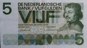 5 Gulden (Vondel I) – obverse