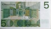 5 Gulden (Vondel I) – reverse