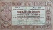 1 Gulden (Silver voucher) – obverse