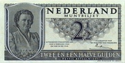 2 1/2 Gulden - Juliana (Coin note) – obverse