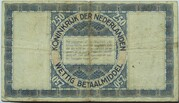 2 1/2 Gulden (Silver voucher) – reverse