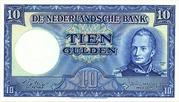 10 Gulden (Willem I - Molen) – obverse