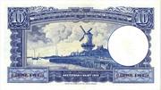 10 Gulden (Willem I - Molen) – reverse