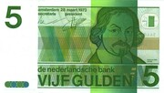 5 Gulden (Vondel II) – obverse