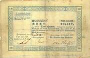 10 Gulden (Coin note) – obverse