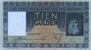 10 Gulden (Grijsaard) – obverse