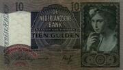 10 Gulden (Meisje met druiven) – obverse