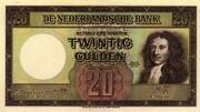 20 Gulden – obverse