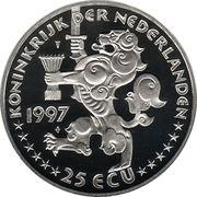 25 ECU - Beatrix (Netherlands-Russia) -  obverse