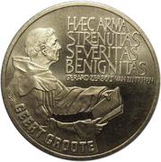 2½ ECU - Beatrix (Geert Groote) -  reverse