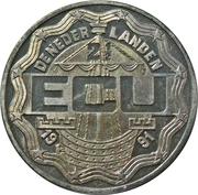 2½ ECU - Beatrix (75th Four-Day-March Nijmegen) -  obverse