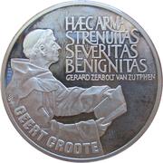 25 ECU - Beatrix (Geert Groote) -  reverse