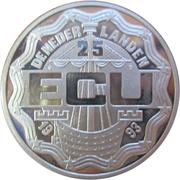 25 ECU - Beatrix (Maastricht Treaty) -  obverse