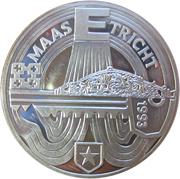 25 ECU - Beatrix (Maastricht Treaty) -  reverse