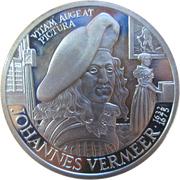 25 ECU - Beatrix (Johannes Vermeer) -  reverse