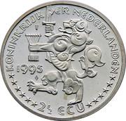 2½ ECU - Beatrix (Grotius) -  obverse